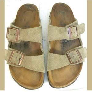 Birkenstock Arizona Soft Footbed Suede Leather 36